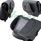 Custodia pelle nera CLIP cintura per Vodafone 858 Smart cod. blt01