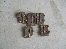 Lot of 4 Old Oo Scale Boxcar Brass Doors Look