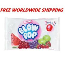 Charms Blow Pop Assorted Bubble Gum Filled Lollipops FREE WORLDWIDE SHIPPING