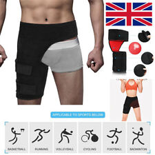 Thigh Compression Brace Adjustable Groin Hip Quad Hamstring Strap Wrap Support