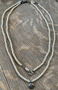Sundance Catalog Peyote Bird 2 - Strand Seed Pearl Necklace