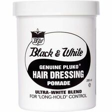 Black & White Pluko Hair Wax Pomade 200ml