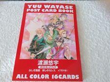*RARE* NEW Yuu Watase Postcard Book- Fushigi Yuugi, Ceres - The Celestial Legend