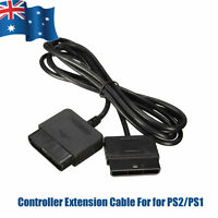 1.8m Controller Extension Cable Cord For Sony Playstation 1 2 PS2/PS1 Console