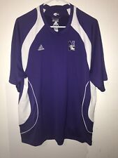 Rare Sample Adidas Climacool Northwestern Wildcats Large Shirt