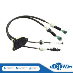 Front & Rear Gear Cables Set For Bipper Nemo Fiorino Qubo 1.3 Diesel 2012-18