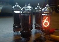 IN-14 *6 pcs* NIXIE TUBE for clock  USSR Used IN14 Tested Working GIFT