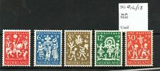 Netherlands 1961 Child Welfare set Sg914/18 Mnh