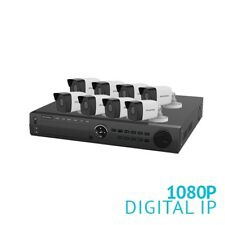 LaView 16 Channel 3TB NVR Security System W/8 HD 1080P IP POE Bullet Cameras