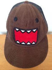 DOMO NHK Japan TV Broadcaster Japanese Monster Mascot Fuzzy Trucker Hat Snapback