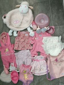 Zapf creation baby dolls clothings and  accessories/Baby Born/Annabelle
