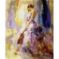Full Drill Diamond Painting 5D DIY Ballet Girl Cross Stitch Room Gift Decor Art