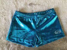 O Zone shorts Gymnastics Dance Youth Lg Turquoise