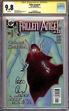 FALLEN ANGEL #1 CGC 9.8 SS Peter David * DC Comics 2003 * Many 1st Appearances