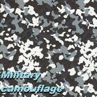"hydrographic water transfer film WATER 19X79"" print ARMY CAMO GRAY US SNOW"