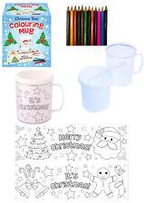 Weihnachten Foto Bilder Tasse Becher Bemalen Geschenk malen gestalten Stifte