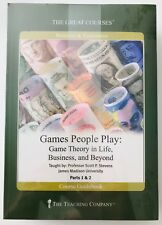 Great Courses Games People Play Game Theory in Life & Business etc DVDs + Book