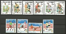 COUPE DU MONDE DE FOOTBALL San Francisco 94 Cambodge 10 timbres oblitérés /T246