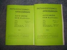 Instandsetzungsanweisung DKW Krafträder RT3 & 125, KS200, SB200-500 & NZ250-500