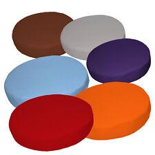 "2""Thick-Round Box Shape Cover*A-Grade Cotton Canvas Chair Seat Cushion Case*La"
