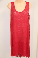 NWT Profile Swimsuit Bikini Cover up Tunic Dress Plus Sz 1X Azalea Crochet