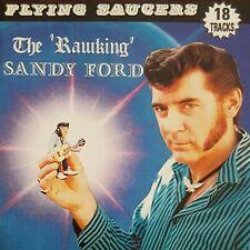 FLYING SAUCERS Rawking Sandy Ford CD - NEW - Teddyboy Rock 'n' Roll Rockabilly