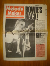 MELODY MAKER 1977 JAN 15 DAVID BOWIE SEX PISTOLS PUNK