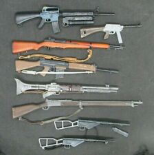 Group of  G.I. Joe or other action figure military weapons accessories        (I