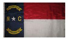 3x5 Embroidered Sewn North Carolina State 300D Premium Nylon Flag 2 Clips