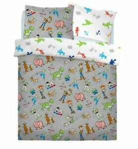 Toy Story The Toys Are Back In Town Double Duvet Cover & Pillowcase Bed Set