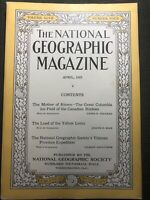 National Geographic Magazine - April 1925 - The Land Of The Yellow Lama