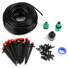 New Listing25M Water Irrigation Kit Set Micro Drip Watering System Automatic Plant Garden.