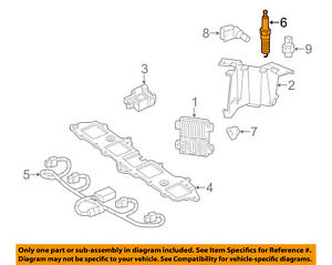 GM OEM Ignition-Spark Plug 12621258