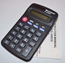 10x Busicom EL340 ECO 8 digit pocket calculators school college office