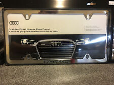 Audi Plate Frame >> Audi Front License Plate Frames License Plate Frames For