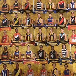 2021 AFL TEAMCOACH GOLD CARD SINGLES - CHOOSE YOUR CARD/S TO COMPLETE YOUR SET