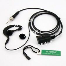 Clip Headset/Earpiece Mic For Uniden UHF Radio UH073SX UH075SX UH076SX UH078SX