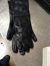 vintage Bel Air Real Kid Black Gloves Xs