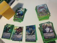 Great Nature Vanguard Deck Leo-pald,Bison , Polaris with Sleeves and Box