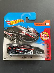 McLaren F1 GTR hot wheels