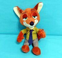 """Disney Zootopia Nick Wilde Plush 7.5"""" Stuffed Animal Toy"""