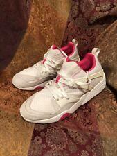 Puma Blaze of Glory Mesh Evolution US 13 357464 02 White Pink
