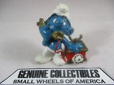 """""""Vintage"""" Super Smurfs TELEPHONE #20062 Schleich Peyo 1980 NICE!"""