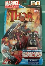 """Marvel Universe 3.75"""" Comic Book 2-Pack Thor and Iron Man"""