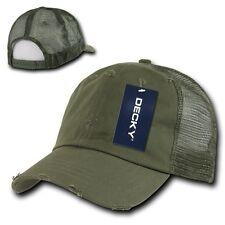 Olive Green Vintage Mesh 80s Snapback Trucker Vtg Baseball Cap Caps Hat Hats