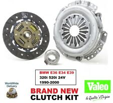 VALEO CLUTCH KIT for BMW E36 E34 E39 320i 520i 24V 1990-2000 3-PC 228mm DIA 10T