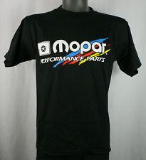 Mopar Performance Parts Black Racing T-Shirt GILDAN Heavy Cotton