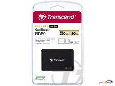 Transcend TS-RDF9K Kartenleser USB 3.0 SD SDHC II SDXC CF MS microSDHC micro OVP