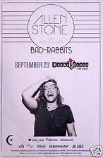 ALLEN STONE / BAD RABBIT 2014 SAN DIEGO CONCERT POSTER - Soul R&B Music