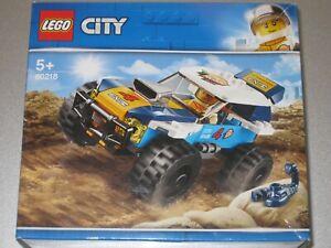 LEGO CITY SET 60218 DESERT RALLY RACER - BRAND NEW